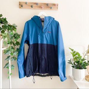 Patagonia   Multi Tone Men's Rain Jacket sz L